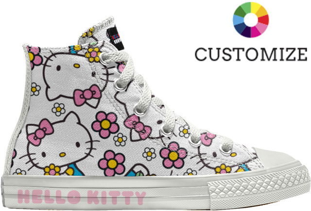 5f317e1a4 It doesn't just stop at sneakers, Converse and Hello Kitty also  collaborated to create kawaii apparel and other accessories!