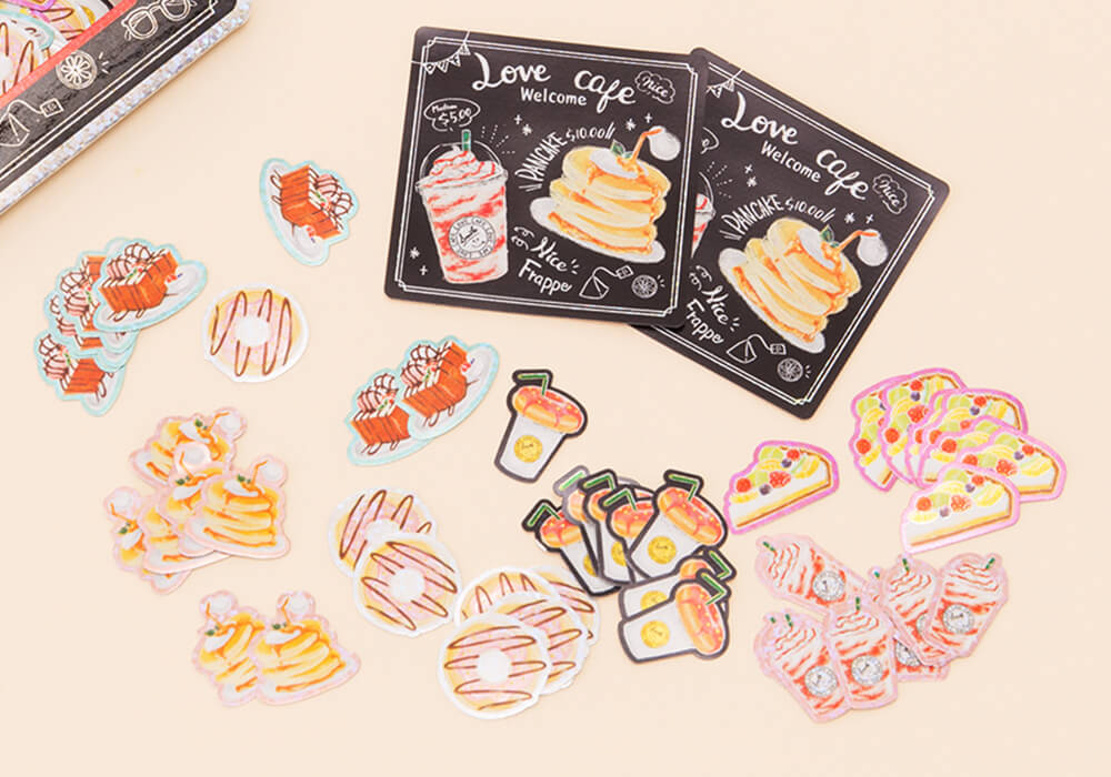 B8086c54df40aeac0f8c1099822eaf8690a76df7 may 2018 cafe holographic stickers 5
